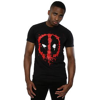 Marvel Deadpool Splat visage T-Shirt homme