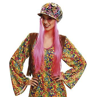 My Other Me Hippie Hat With Hair (Costumes)