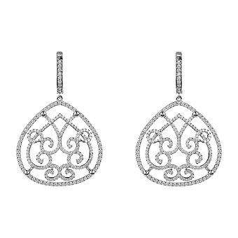 Maria Sterling Silver Statement Earring