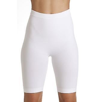 Womens Camille bianco Seamfree Shapewear controllo coscia più sottile supporto slip