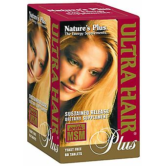 Naturen Plus ULTRA HAIR PLUS opgelopen RELEASE tabletten 60
