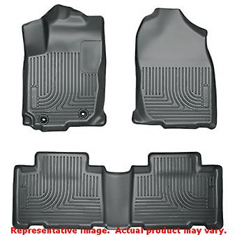 Husky Liners 98972 Grey WeatherBeater Front & 2nd Seat  FITS:TOYOTA 2013 - 2014