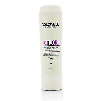 Goldwell Dual Senses Color Brilliance Conditioner (Luminosity For Fine to Normal Hair) - 200ml/6.7oz