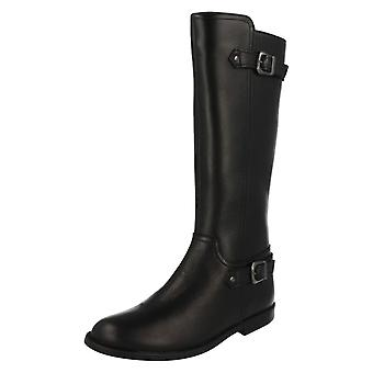 Girls Startrite Riding Style Knee Length Boots Gallop