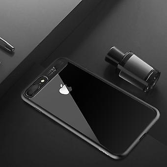 Oprindelige ROCK kofanger case for Apple iPhone 7 plus / 8 plus taske dækning case sort nye