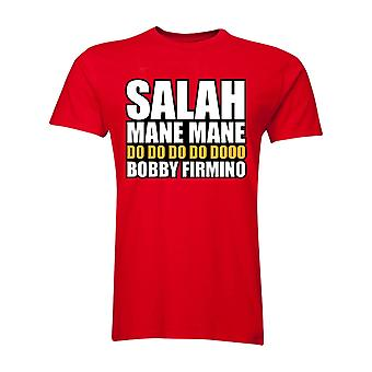 Salah Mane Mane Liverpool T-Shirt (Red) - Kids