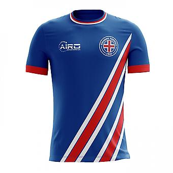 2018-2019 Iceland Home Concept Football Shirt
