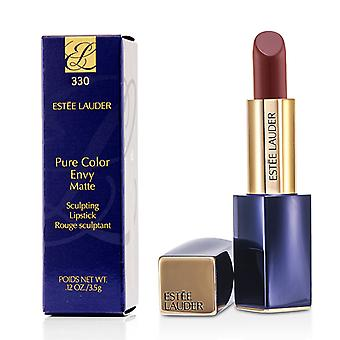 Estee Lauder Pure Color Envy Matte Sculpting Lipstick - # 330 Decisive  Poppy 3.5g/0.12oz