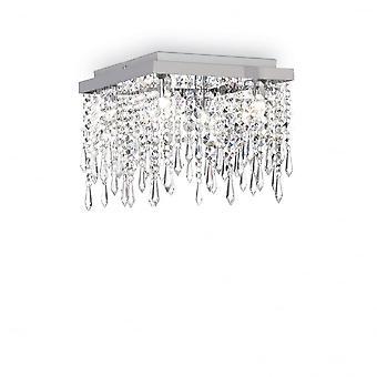Свет потолок кристалл водопад Giada ясно идеальный Lux