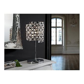 Schuller Modern Saten Crystal Table Lamp Bedside Lamp