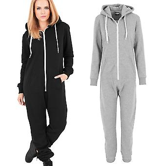 Urban classics ladies - sweat jumpsuit fleece overalls