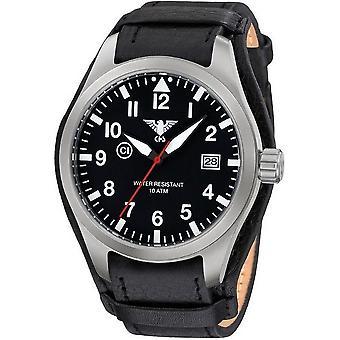 KHS horloges mens watch Airleader staal KHS. VOOR HET EERST UITGEZONDEN. R