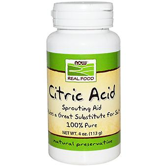 Now Foods Citric Acid 113 g (Vitamins & supplements , Special supplements)