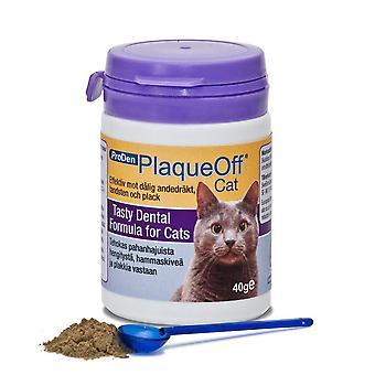 Proden PlaqueOff kat katachtige formulering voor slechte adem, tandplak en tandsteen (40g)