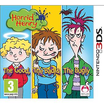 Horrid Henry The Good  The Bad and The Bugly (Nintendo 3DS)