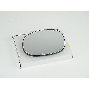 Left Passenger Side Mirror Glass (heated) & Holder for Citroen C3 2002-2009