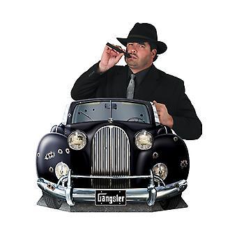 Gángster coche fotos Prop
