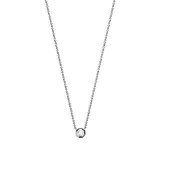 ESPRIT women's chain necklace silver JW52890 cubic zirconia ESNL93459A420