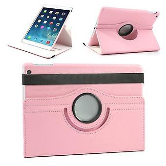 Schutzhülle Kunstleder 360 Grad Tasche Rosa für Apple iPad Air 2 2014