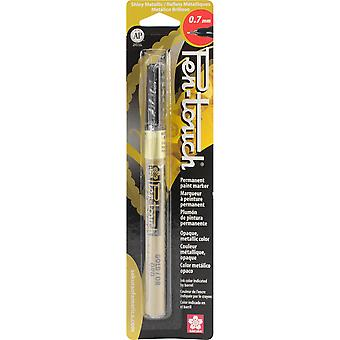 Pen-Touch Paint Marker Extra Fine Point .7mm-Gold Metallic