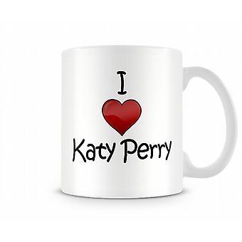 Ich liebe Katy Perry Bedruckte Tassen
