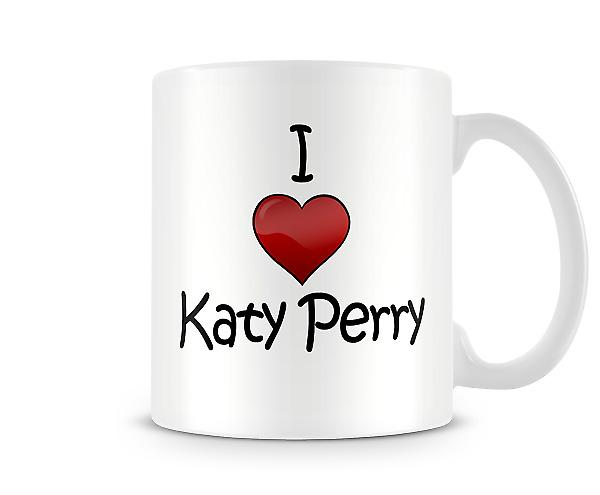 I Love Katy Perry Printed Mug