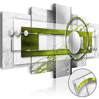 Tableau sur verre acrylique - Green Energy [Glass]