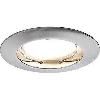Paulmann Coin 92827 LED recessed light 3-piece set 21 W Warm white Iron (brushed)