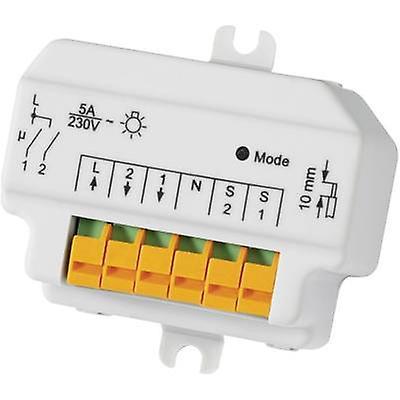 Homematic Wireless switch HM-LC-SW2-FM 76794 2-channel Flush mount 1150 W