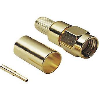 SMA reverse connecteur fiche, tout droit 50 Ω BKL électronique 0409078 1 PC (s) de la polarité