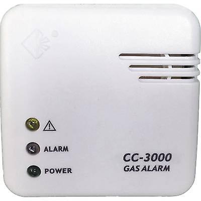 Cordes Haussicherheit CC-3000 gasdetektor lysnettet-drevne registrerer butan, metan, propan