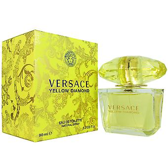 Diamante amarillo de Versace para mujer 3.0 oz Eau de Toilette Spray