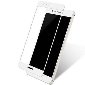 Huawei honor 9 3D armoured glass foil display 9 H protective film covers case white