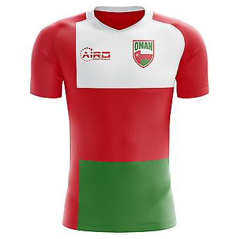 2018-2019 Oman Home Concept Football Shirt
