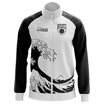 Japan Concept Football Track Jacket (White) - Kids