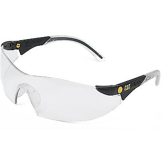 Caterpillar Mens Dozer Protective Workwear Safety Glasses White