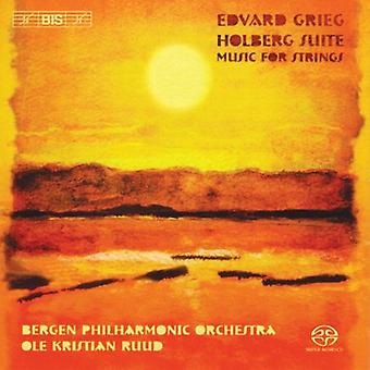 Bergen Philharmonic Orchestra - Grieg: Suite Holberg [SACD] USA import