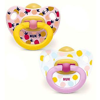 Nuk Latex Anatomical Pacifier 2 units size 3