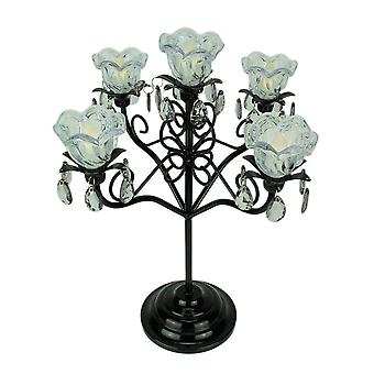 Hannah Series 5 Flame Anywhere Candelabra Accent Lamp