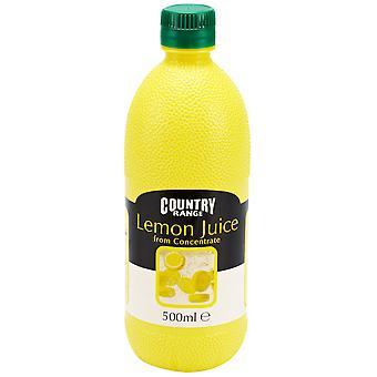 Land reichen Zitronensaft
