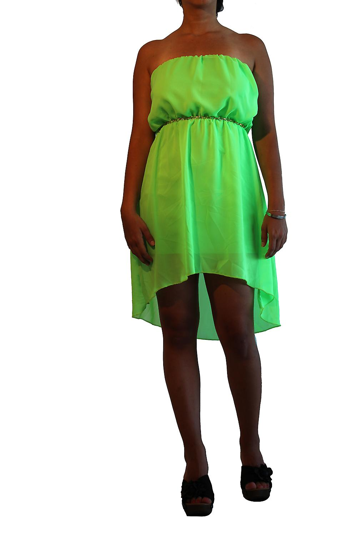 Waooh - Fashion - kort kjole med noder
