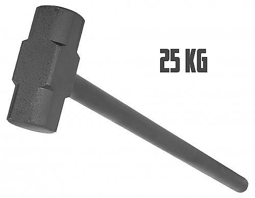 Marteau en acier de gymnastique 25kg