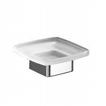 Lounge Soap Dish F/S chrome/glass 5451 13
