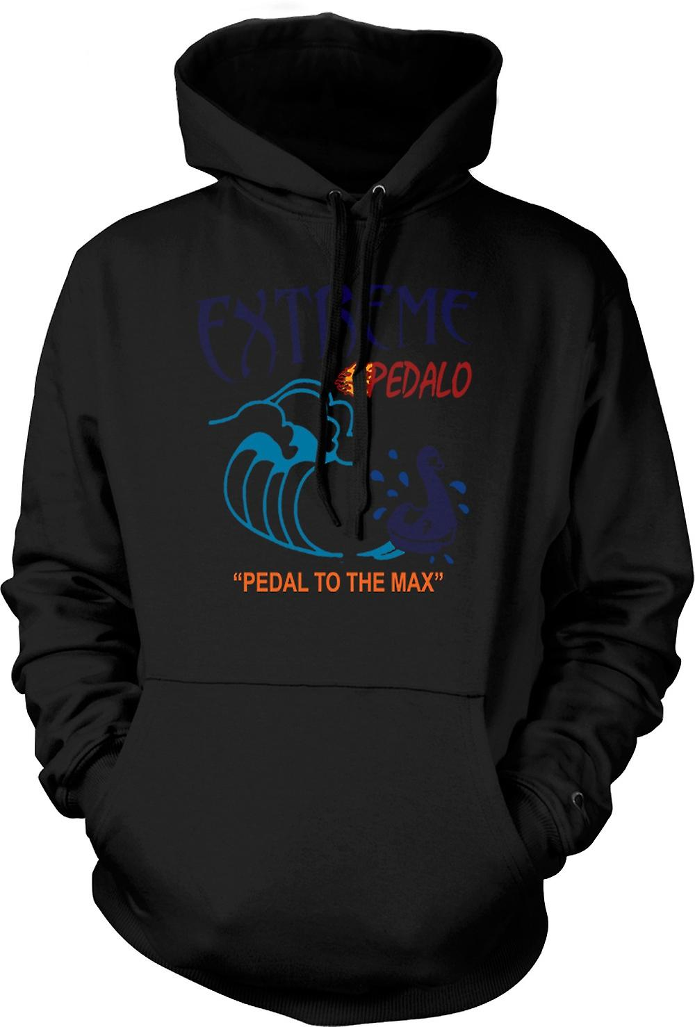 Mens Hoodie - extrem Pedelo - Funny
