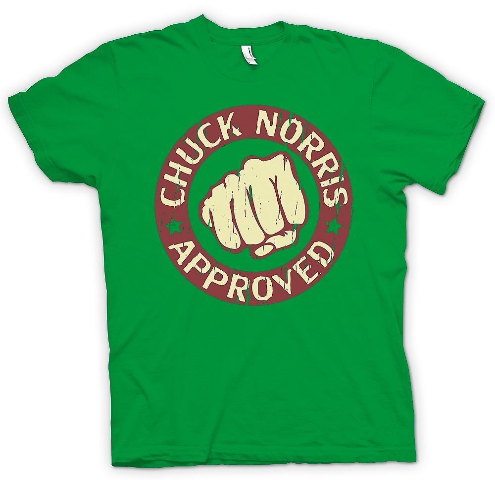 Mens T-shirt - Chuck Norris Approved Super Fist