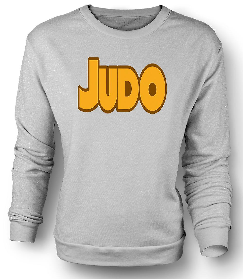 Mens Sweatshirt Judo - Martial Art - Slogan