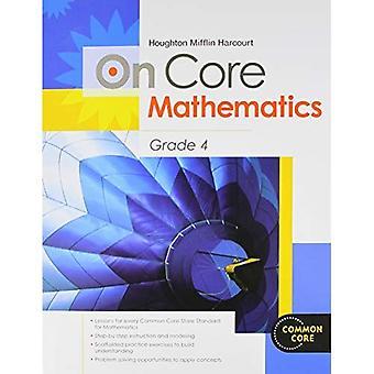 Houghton Mifflin Harcourt på Core matematik: studerende projektmappe Grade 4