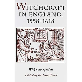 Sorcellerie en Angleterre, 1558-1618