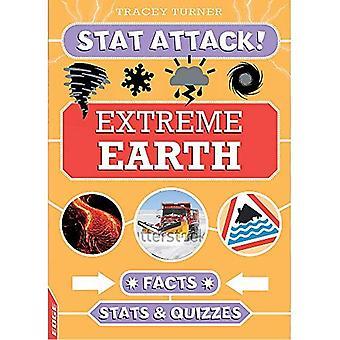 BORD: Stat attaque: faits de terre extrême, des statistiques et des jeux-questionnaires