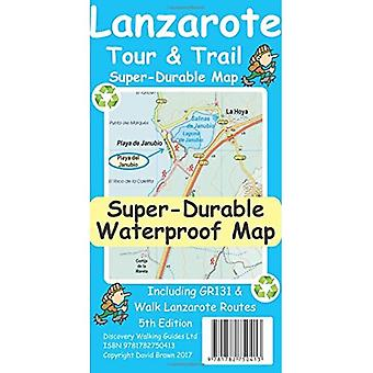 Lanzarote Tour & Trail Super-Durable Map (Sheet map)